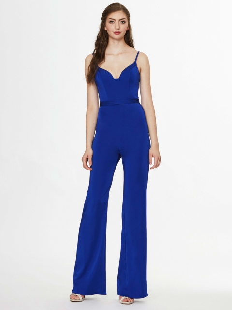 Angela and Alison prom jumper style number 91098. Shown in Royal Blue.