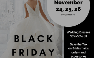 Black Friday, Saturday Sunday Sale!