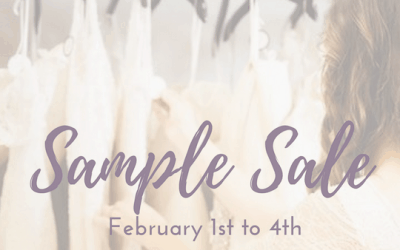 Annual Sample Sale – Save up to 70% off!