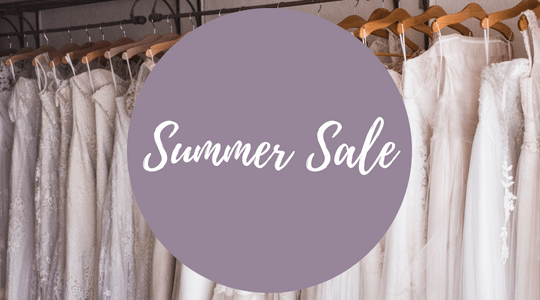 August 14th to 31st is Runway Bridal's Summer Sample Sale. Book your appointment online at www.runwaybridal.ca or call the boutique at 613-966-0122.