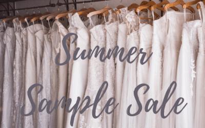 Summer Sample Sale!