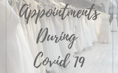 Shopping for your wedding dress during Covid 19