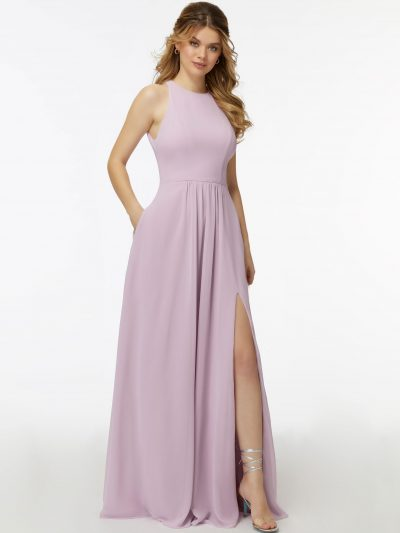 Maeve 21726 halter bridesmaid dress by Morilee