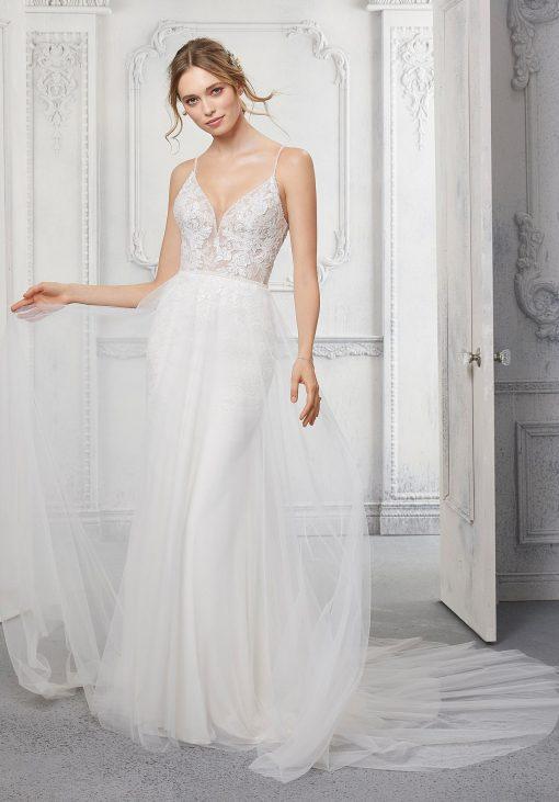 Corinne wedding dress by Morilee at Runway Bridal