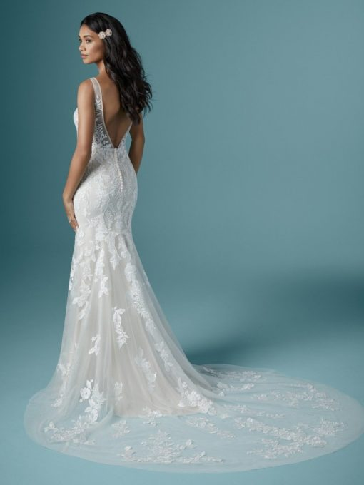 Maggie Sottero Greenly lace wedding dress