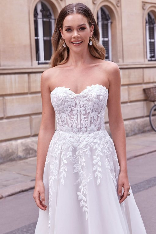 Strapless Sweetheart Ball Gown