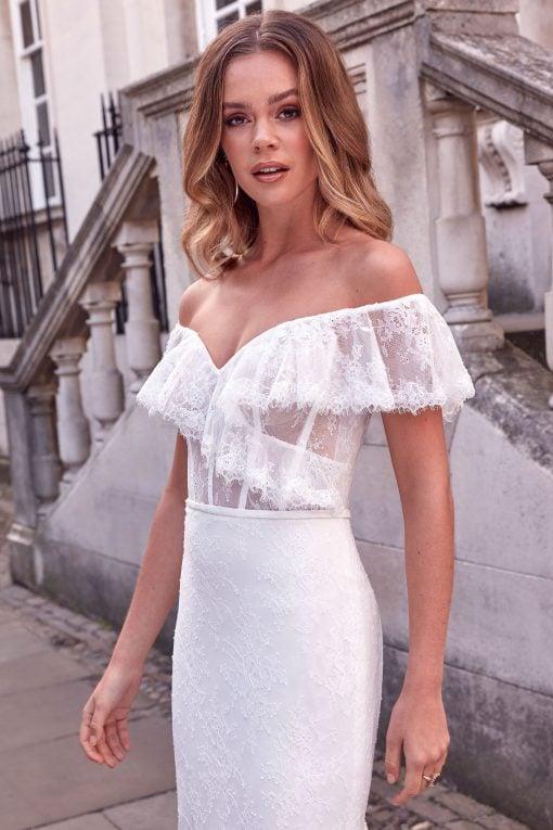 11183_FB_Anabella_Adore-Justin-Alexander off the shoulder wedding dress4