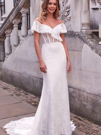 11183_FB_Anabella_Adore-Justin-Alexander off the shoulder wedding dress