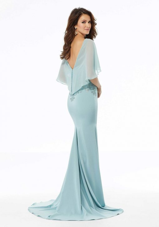 mother of the bride dress with sleeve