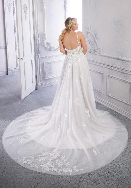 Courtney Morilee 3334W-Plus size wedding dress
