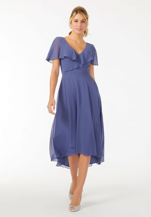 chiffon mother of the bride or groom dress